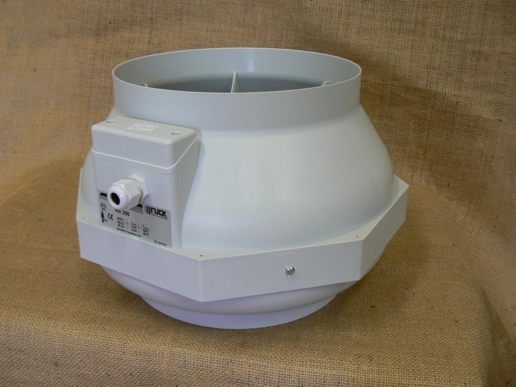 Ventilátor Ruck RK 250 (830 m3/h)
