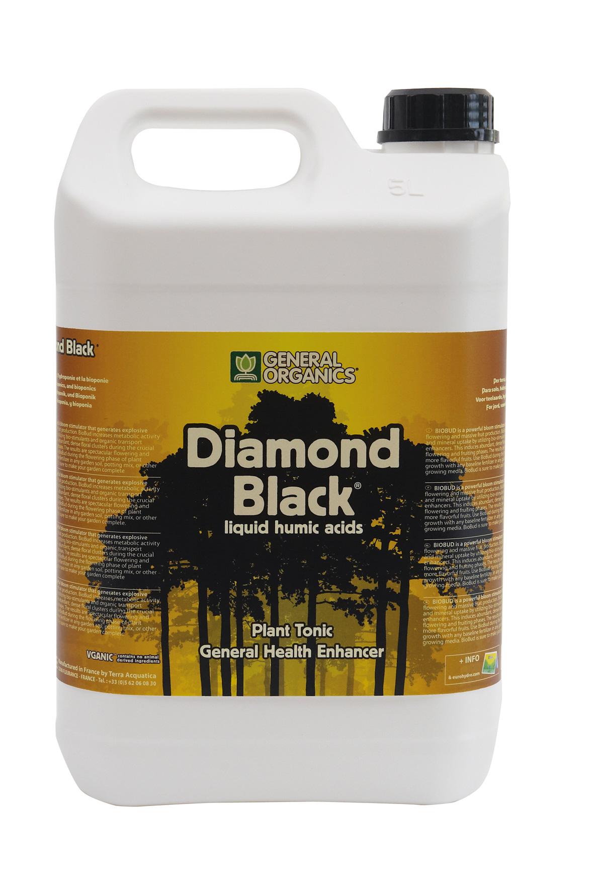 General Organics Diamond Black 5 l