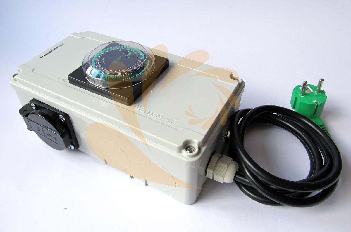 Davin DV-12 - 2x600 W spínací relé hodiny