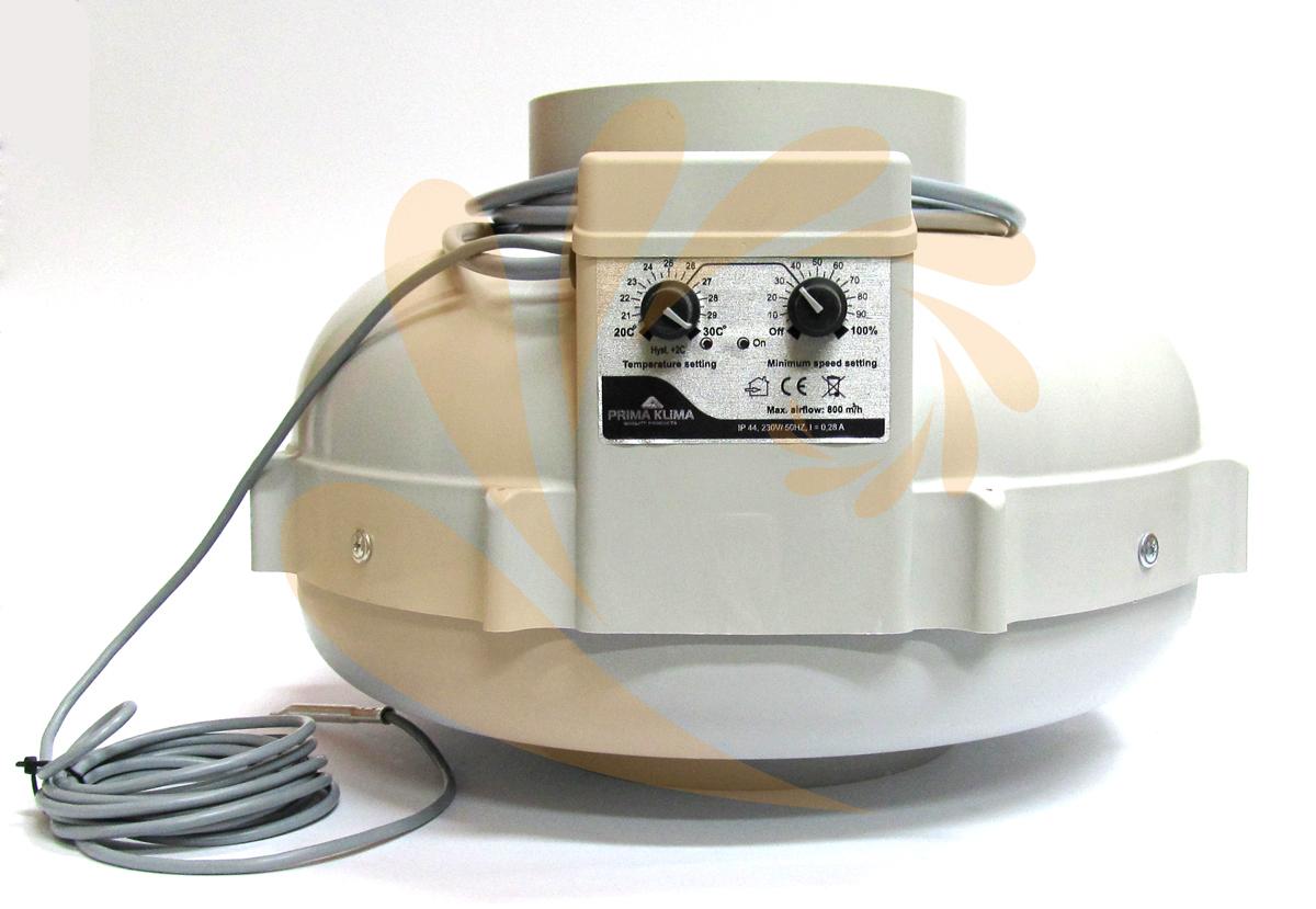 Ventilátor Prima Klima 160 CTRL 800 m3/h