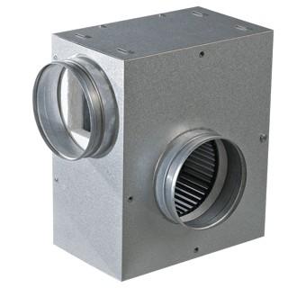 Ventilátor Vents KSA 125-2E U (530 m3/h) odhlučněný ventilátor s regulací