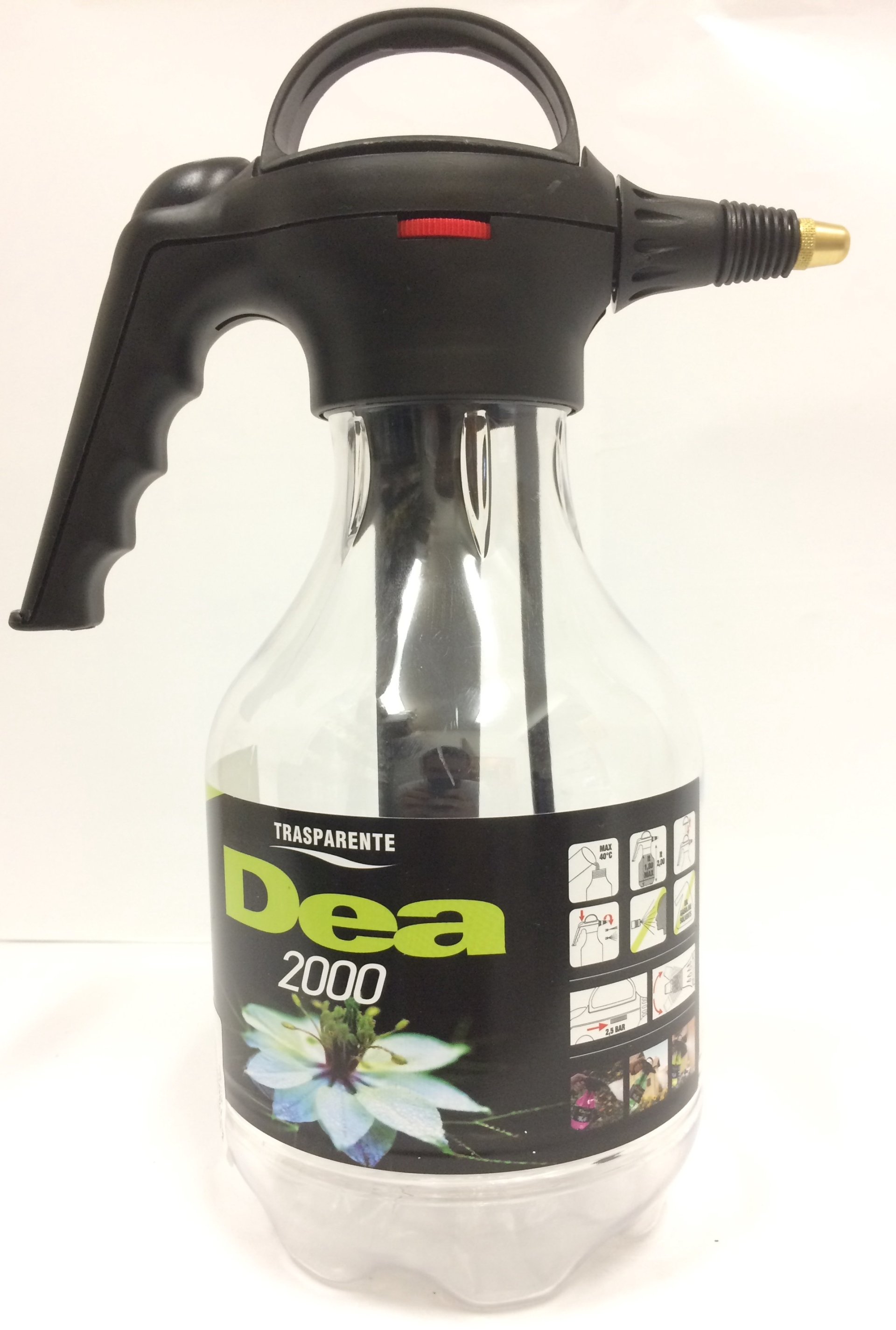 Rozprašovač tlakový DEA 2 l čirý