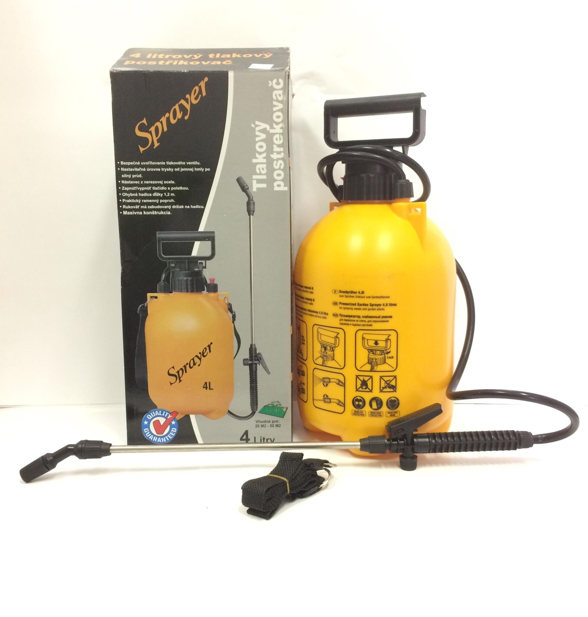 Rozprašovač tlakový 4 l Sprayer