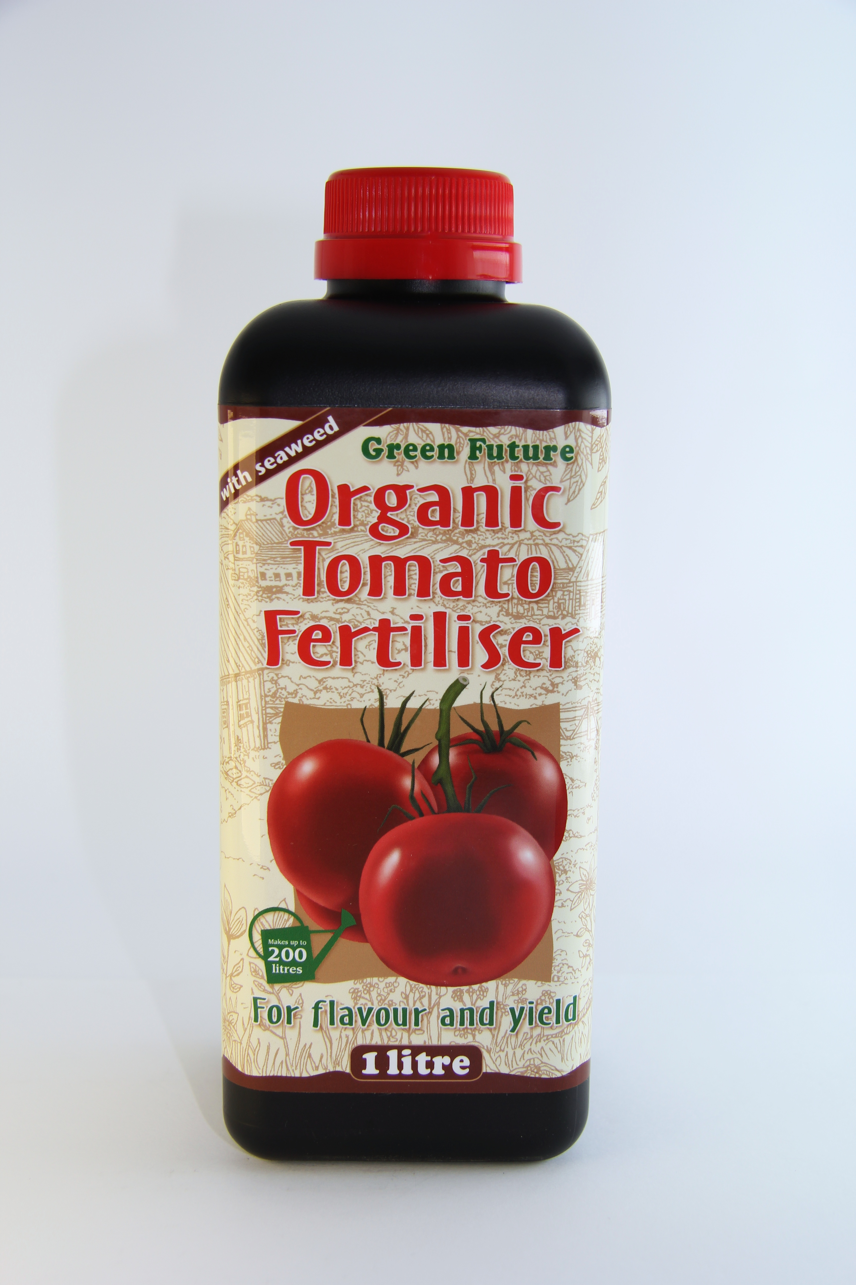 Green Future Organic Tomato Fertiliser 1 l Growth Technology - speciální hnojivo pro rajčata pro lep