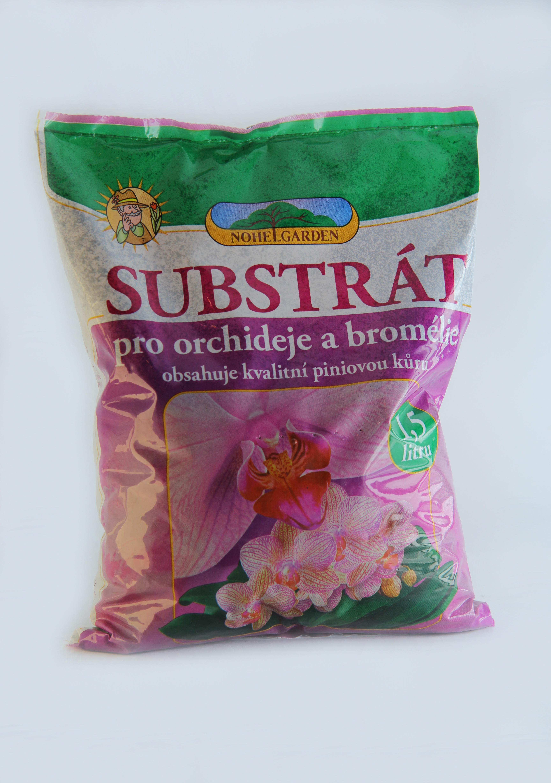 Substrát pro orchideje a bromélie 1,5 l