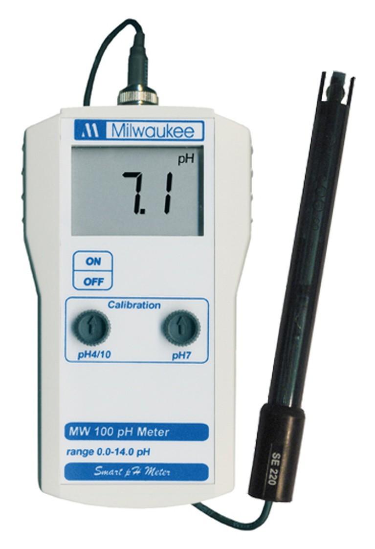pH metr Milwaukee MW-100 s externí sondou